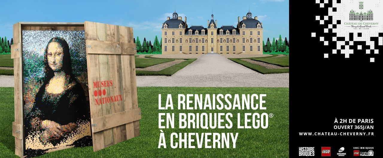 LEGO® EXHIBITION: CHEVERNY DURING THE RENAISSANCE