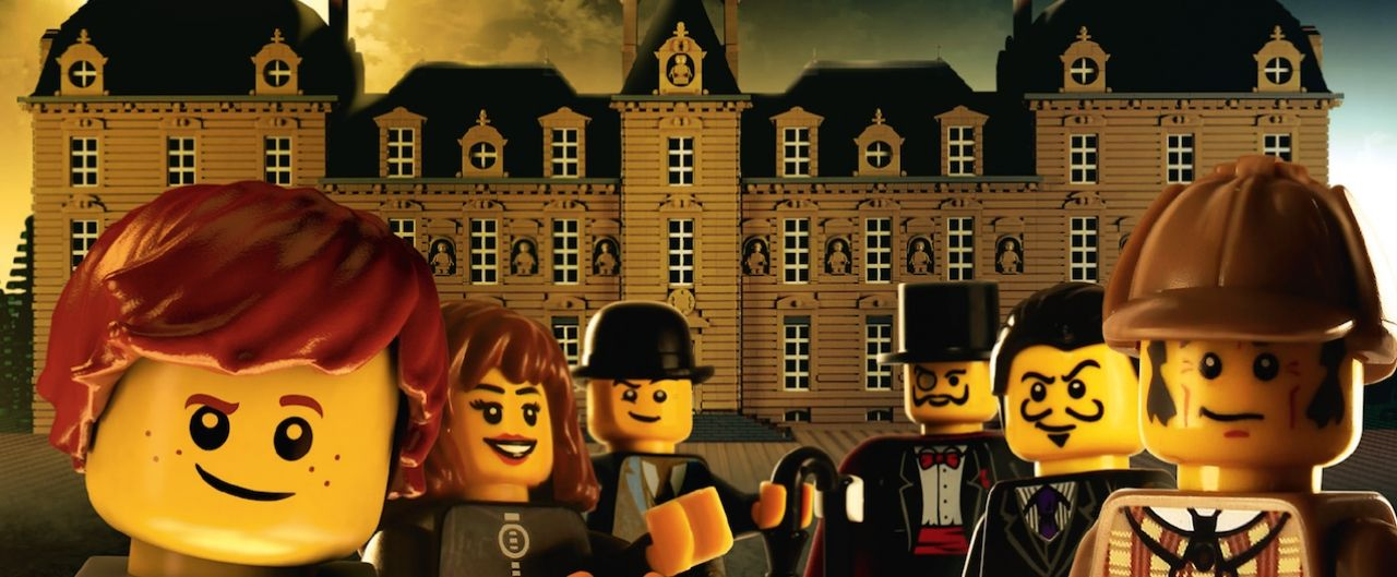 New exhibition LEGO ® : Investigation at Cheverny